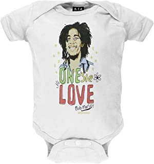 One Love White Baby One Piece