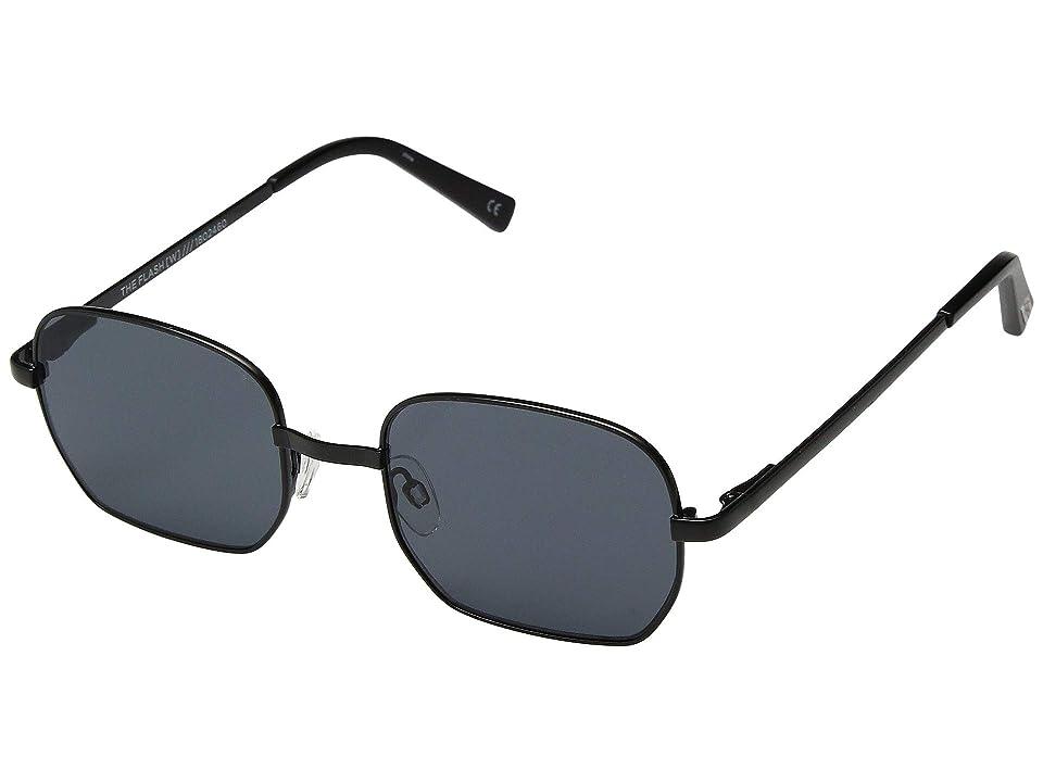 Le Specs The Flash (Matte Black) Fashion Sunglasses