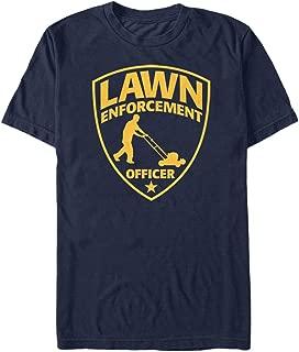 Lawn Enforcement Officer Mens Graphic T Shirt