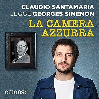 La camera azzurra audiobook cover art
