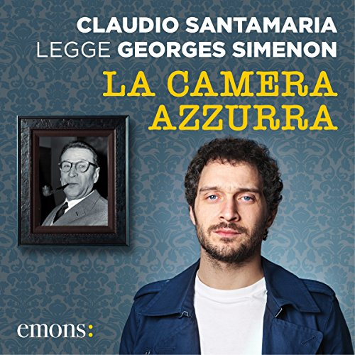 La camera azzurra audiobook cover art