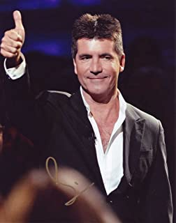Simon Cowell in-person autographed photo