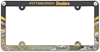 WinCraft NFL Pittsburgh Steelers LIC Plate Frame Full Color