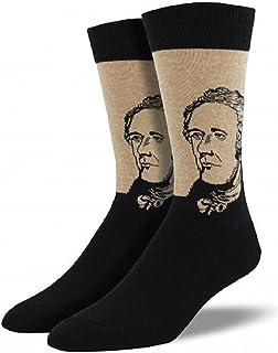 Socksmith Men's Novelty Crew Socks Hamilton-Hemp