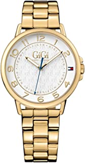 Tommy Hilfiger Women's White Dial Color Stainless Steel Band Watch - 1781722