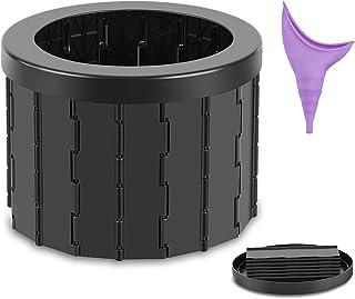 Portable Folding Toilet, Commode Porta Potty Car Toilet,...