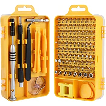 Hi-Spec 58 Piece Electronics Screwdriver Bit Set Repair of Mobile Phones, iPhone, MacBook Air /& Pro, PDA, PC, Laptops, LCD Screens, Tablets, Watches, Game Boy, PS2, Xbox