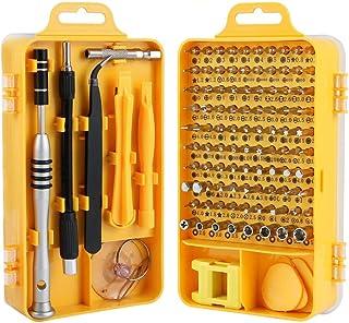 Trekoo Screwdriver Set, 110-in-1 Precision Screwdriver Repair Tool Kit Magnetic Driver Kit
