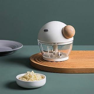 GGJIN Manual Fruit Chopper Blender Hand Pull Onion Nuts Grinder High Capacity Hand Power Mincer Blender Mixer (Color : White)