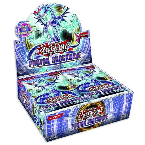 Yu-Gi-Oh Photon Shockwave Booster Box (24 Packs) [Importato da UK]