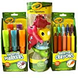 Crayola Bath Time Fun Bundle Including Bathtub Markers, Bathtub Crayons and Bath Squirters