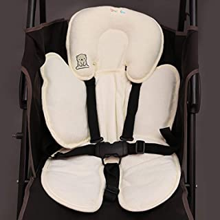 Infant Car Seat Insert Lamavido Travel Pillow Cotton Baby Stroller Liner Head And Body Support Pillow Infant Seat Pad Carseat Neck Support Cushion For Toddler Star Formtech Inc Com