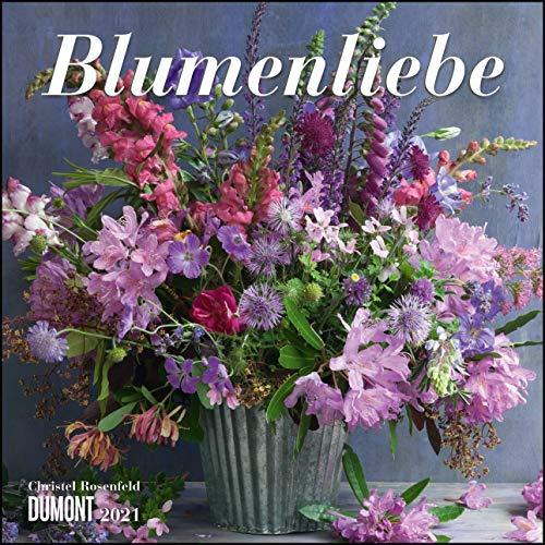 Blumenliebe 2021 – Broschürenkalender – Mit Gedichten – Format 30 x 30 cm