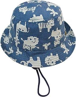 M-BZY Sombrero de Sol para Bebé Pesca de Verano Playa Estampado Animales Talla 50cm/1-2 años