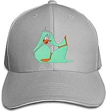 LUCY FOSTER Looney Daffy Duck Outdoor Running Cotton Caps Adjustable Black