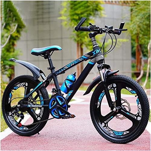 Kids Bicycle, Bike Boys Mountain Bikes, Kids Bikes 20 22 24 Inch Wheels 21-Speed Damping Variable-speedMountain Bicycle for 6-15 Years Old, Kids Dirt Bike, Boys Girls Birthday Gifts ,Child's Bike