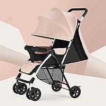 BESTPRVA Azul del cochecito de bebé portátil carro de bebé cochecito ligero-cochecito cochecito pequeño Cochecito de 360 grados giratoria de la rueda delantera cochecitos
