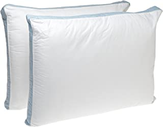 Perfect Fit | Gusseted Quilted Pillow Hypoallergenic, 233 Thread-Count, Firm Density, Set..