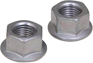 Forest Byke Company Anti-Rust 3/8 Axle Bicycle Hub Nut 3/8'' x 24T (Pair)