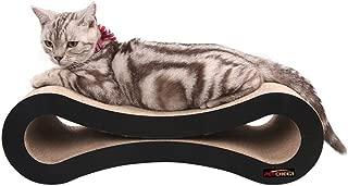 LIKEA 爪とぎ バリバリベッド 猫スクラッチャー 猫ソファー 高密度ダンボール 猫用品 (8形状)
