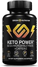 Exogenous Ketones - Keto Power Capsules - BHB Keto Diet Supplement with Caffeine - BHB Salts to Enhance Performance, Kickstart Ketosis, Increase Focus, Burn Fat for Energy - Beta-Hydroxybutyrates