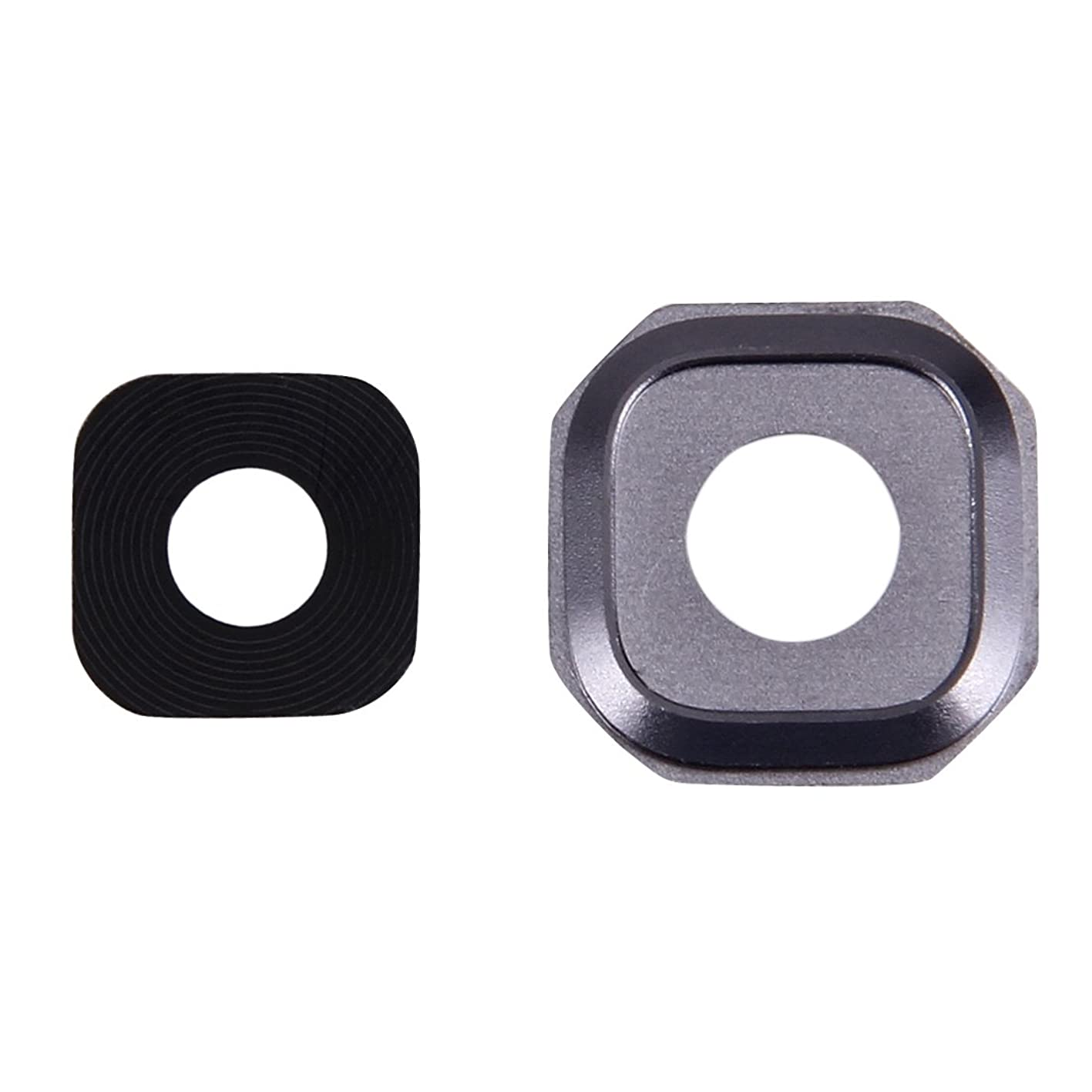 HONGYU Smartphone Spare Parts 10 PCS Camera Lens Covers for Galaxy A7 (2016) / A710(Pink) Repair Parts (Color : Grey) qvwhlxrapcb943