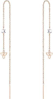 Tamaris Boucles d'oreilles en acier inoxydable doré rose TJ-0006-E-12