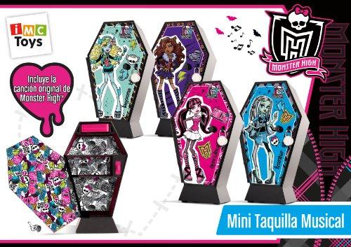 Monster High - 870277 - Jeu Électronique - Mini Casier Musical Monster High
