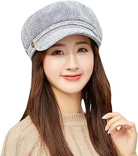 CZYCO Women Winter Warm Knit Hat Wool Snow Ski Beret Baggy Beanie Slouch Caps