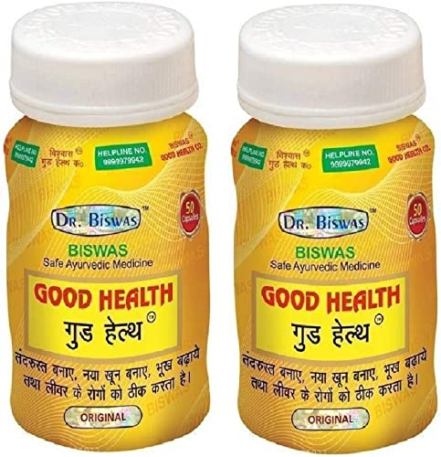 Dr Biswas Good Health Strong Capsule Pack of 2