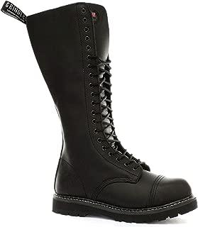 King 2015 Black Mens Safety Steel Toe Derby Boots
