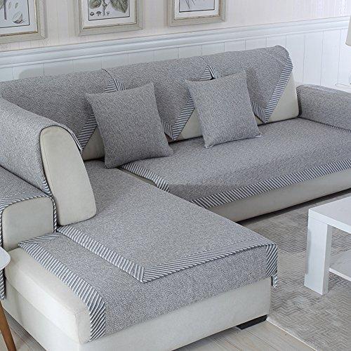 Ritaba Baumwolle Für Haustiere Couch Sofa Überwürfe, Anti-rutsch Übergroßen Spitze Couch Sofa Überwürfe Couch-Shield Sofaschoner Verkauft in stück-E 70x150cm(28x59inch)