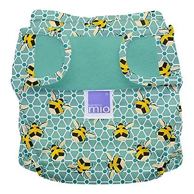Bambino Mio, Miosoft Cloth Diaper Cover, Bumble, Size 1 (<21lbs)