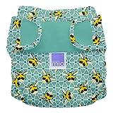 Bambino Mio, mioduo cobertor de pañal reutilizable reutilizable, abejas, talla 1 (