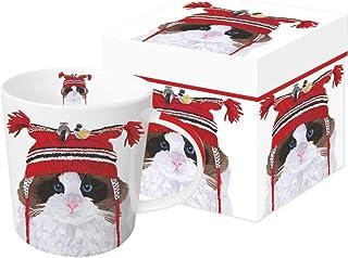 Paperproducts Design 602347 Max presentförpackad, benporslin, flerfärgad