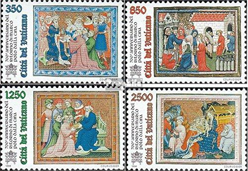 Vatikanstadt 1167-1170 (complète.Edition.) 1996 Marco Polo (Timbres pour Les collectionneurs)