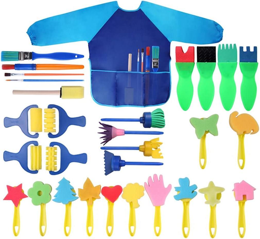 Lnrueg Phoenix Mall Kids Paint Courier shipping free Supplies Waterproof Educational Sleeved To DIY