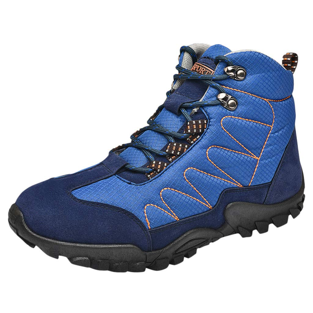 Men's Ankle Mesa Mall Boots Tulsa Mall Waterproof Hiking Shoes Sole Ultra Soft Outdoo