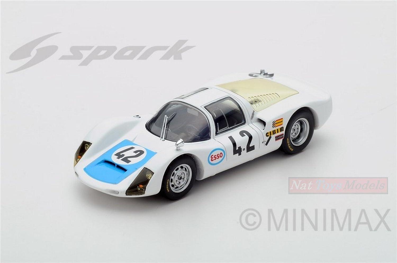 Spark Model S4685 Porsche 906 6 N.42 DQ LM 1968 P.MAUWeiß-C.Poirot 1 43 Model B077DY24HC Kinder mögen | Sehr gelobt und vom Publikum der Verbraucher geschätzt