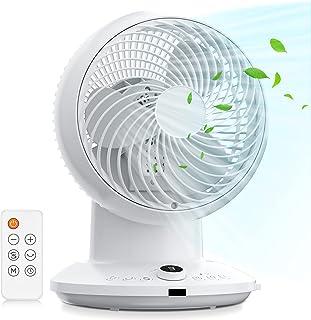 Ventilateur de Circulation d'Air, 4 Vitesses & 3 Modes, Puissant Ventilateur Turbo Silencieux avec Télécommande, 8H Minute...