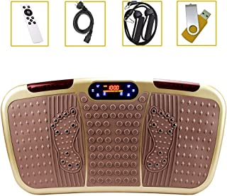 High quality Fitness Vibration Plate, Home Professional Slimming Body Toning Magnetic Therapy Shiatsu Massage, High Power ...