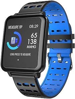 WJDZSB Smartwatch Reloj Inteligente Mujer Impermeable con Cronmetro, Pulsera Actividad Inteligente para Deporte, Reloj De Fitness con Podmetro Smart Watch Mujer Hombre para Android IOSblue