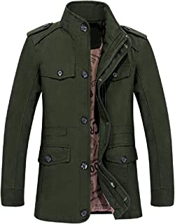Howme-Men Thickening Oversized Tactical Windproof Quilted Jacket