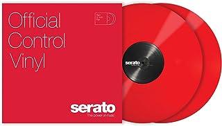 """Serato Control Vinyl 12"""" Pair Red"""