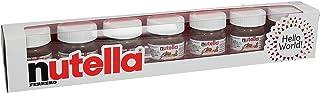 Nutella Hello World 7 Mini Bottle of Hazelnut Spread