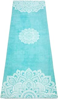 | The Combo Yoga Mat | 2-in-1 Mat+Towel | Eco Luxury | Ideal for Hot Yoga, Power, Bikram,..