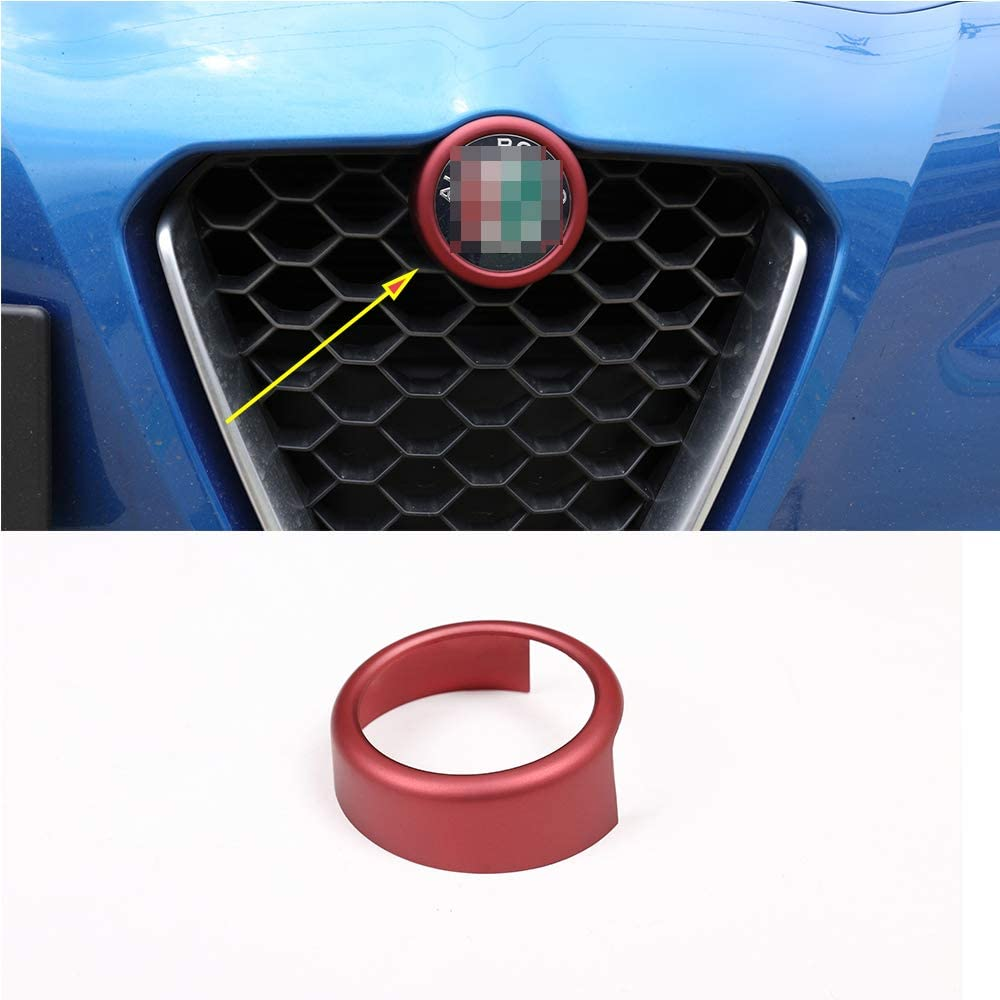 YIWANG Frosted Red ABS Inventory cleanup selling sale Plastic Grill Decoration Front Frame Trim Max 47% OFF