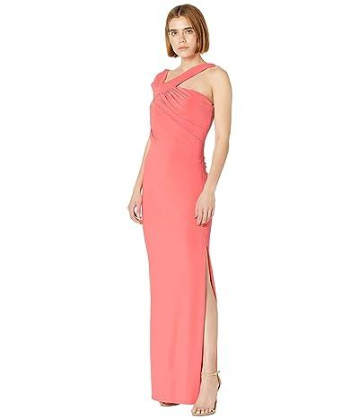 BCBGMAXAZRIA Jersey Gown with Slit