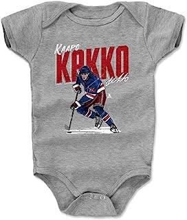 500 LEVEL Kaapo Kakko New York Hockey Baby Clothes & Onesie (3-24 Months) - Kaapo Kakko Chisel
