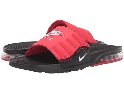 Nike Air Max Camden Slide (Black/White/University Red/Team Red) Men